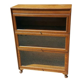 Gunn Furniture Co. 3 Stack Barrister Bookcase