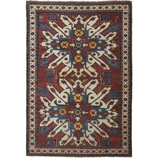 An Antique Eagle Karabagh Rug
