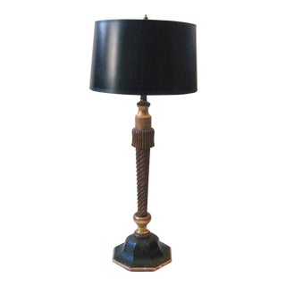 Carved Giltwood Table Lamp