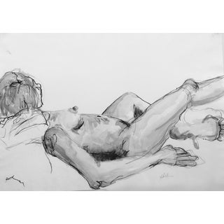 French Model Drawing by Martha Holden