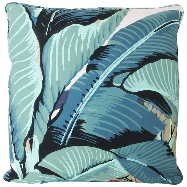 "Beverly Palm ""Martinique Banana Leaf"" Pillow - Image 1 of 2"