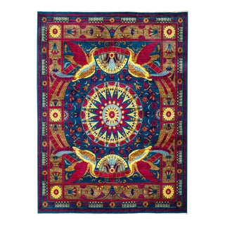 """Suzani Hand Knotted Area Rug - 8'3"""" X 10'6"""""""
