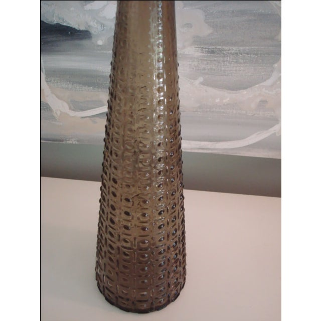 Grey Dotted Vintage Decanter - Image 4 of 8