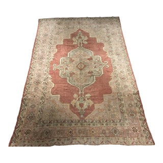 "Bellwether Rugs Vintage Turkish Oushak Runner - 8'3""x12'8"""