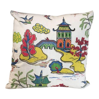 Kim Salmela Multi Color Pagoda Pillow