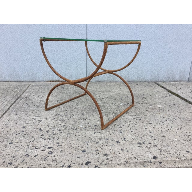 Image of 1960's Modernist French Side Table