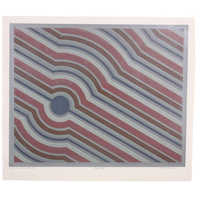 Concentric Stripes, C. 1970 - Image 1 of 7