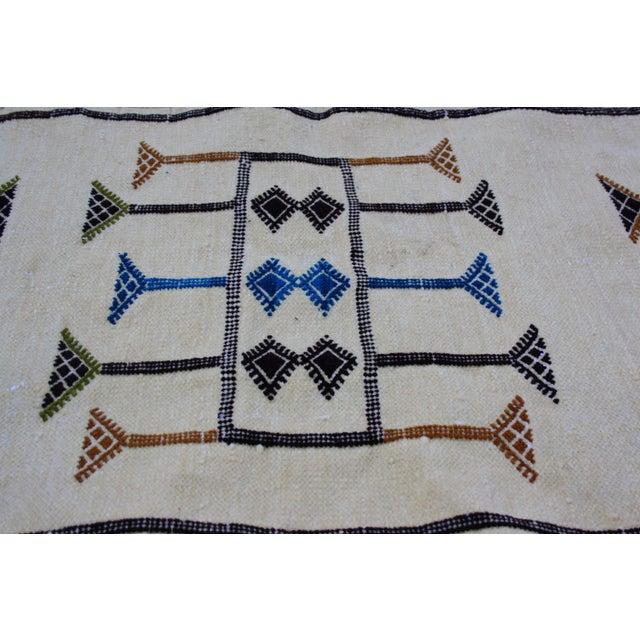 Moroccan Berber Silk Rug - 3'3'' X 1'9'' - Image 3 of 4