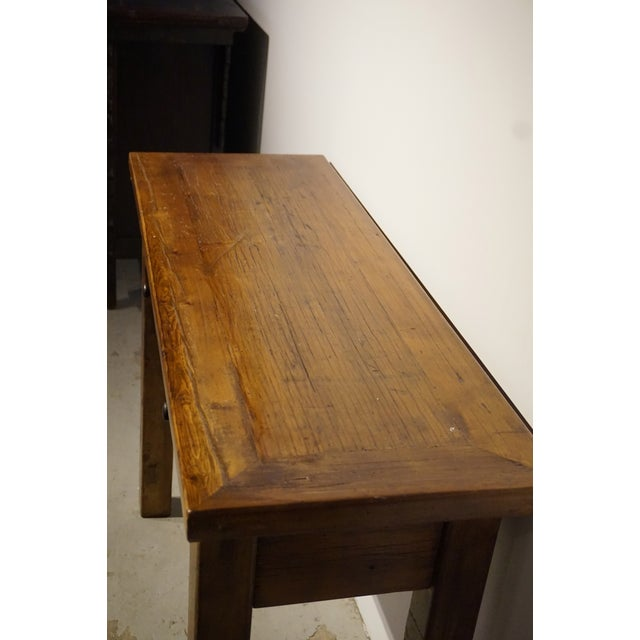 Solid Wood Hall Console Table - Image 5 of 6