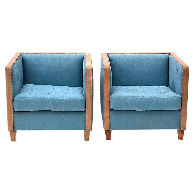 Restoration Hardware Sale: Restoration Hardware Deconstructed Club Chairs