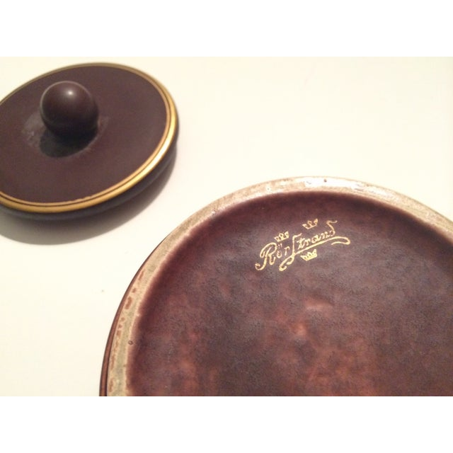 Rorstrand Swedish Mid-Century Covered Dish - Image 6 of 6
