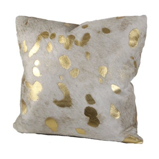Gilded Hide Pillow