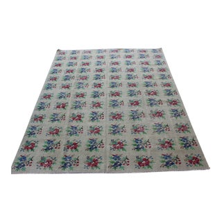 Vintage Oriental Turkish Runner - 6′6″ × 8′8″