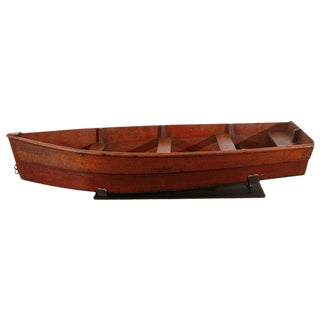Craftsman Model Row Boat