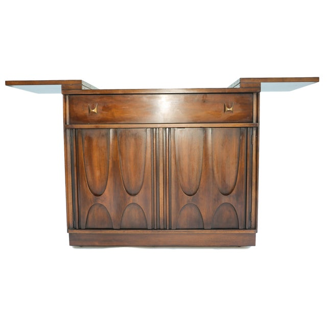 Image of Broyhill Brasilia Flip Top Bar Cart