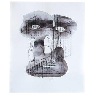 Brendan Getz Head 1 Mixed Media Painting