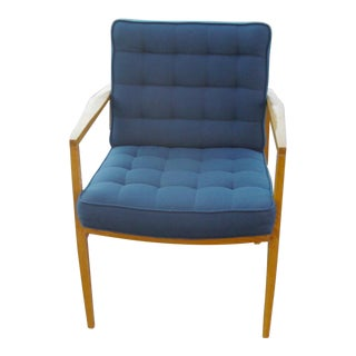 Knoll Vincent Cafiero Teal Lounge Chairs