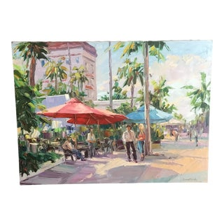 Miami Beach Lincoln Road Painting