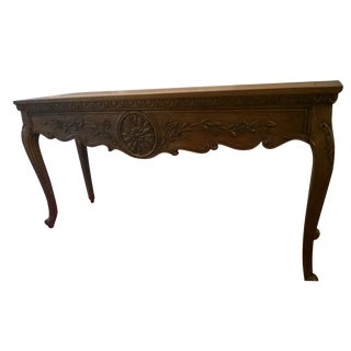 Vintage Hekman Console Sofa Table