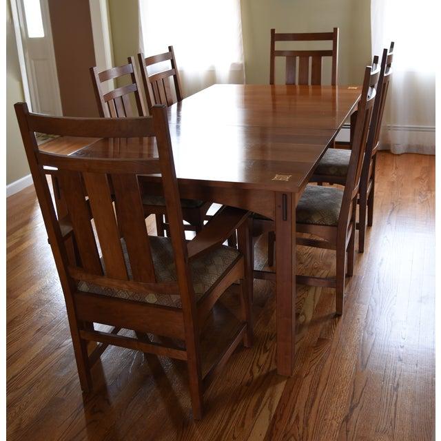 Stickley Dining Room: Stickley Harvey Ellis Cherry Dining Set