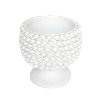 Large Scale Mid-Century Italian Pottery in White