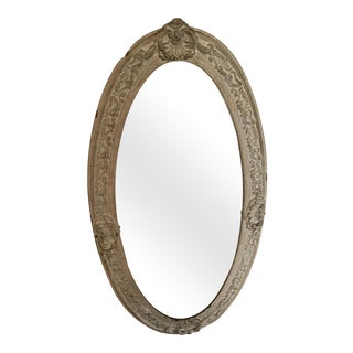 Shabby Chic White Ornate Mirror