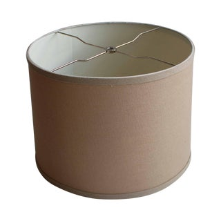 Linen Drum Shade