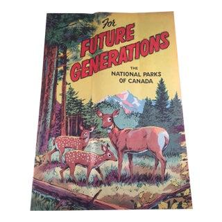 Canadian National Parks Pamphlet