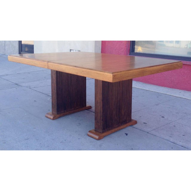 Image of Paul Frankl Dining Table with Original Finish