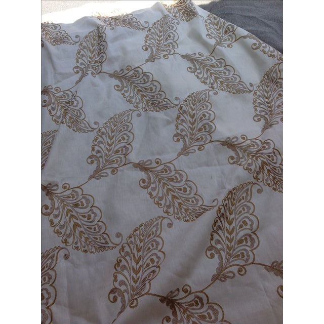 Leaf Embroidery Fabric by Highland Court - 2 Yards - Image 4 of 4
