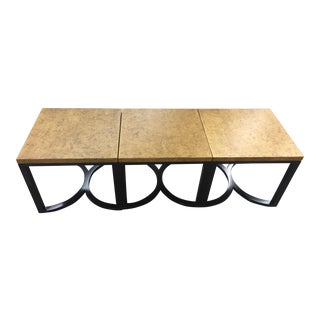 Century Furniture Curule Bunching Cocktail Tables - Set of 3