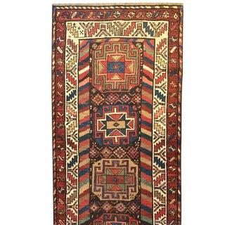 19th Century Azeri Runner - 3′3″ × 15′
