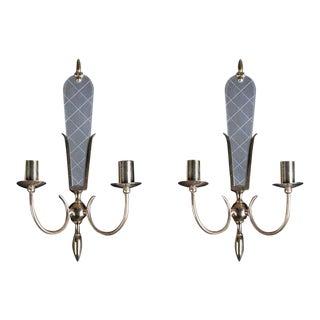 1950s Venetian Style Sconces - A Pair