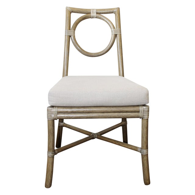 McGuire Thomas Pheasant Open Back Chair - Image 1 of 6