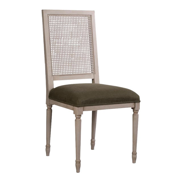Sarreid Ltd Adams Cane Back Beechwood Dining Chairs- A Pair - Image 1 of 6