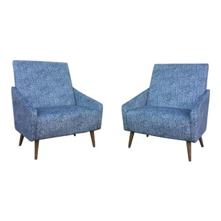 """De Carlo"" Lounge Chair - A Pair"