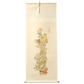 Mei Lanfang Painted Scroll