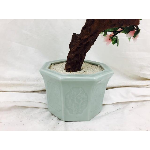 Vintage Mixed Stone Bonsai Tree Sculpture - Image 9 of 11