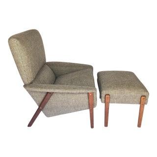 Folke Ohlsson for Dux Lounge Chair & Ottoman