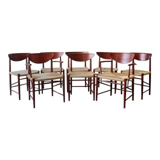 Peter Hvidt and Orla Mølgaard Nielsen Teak Armchairs - Set of 8