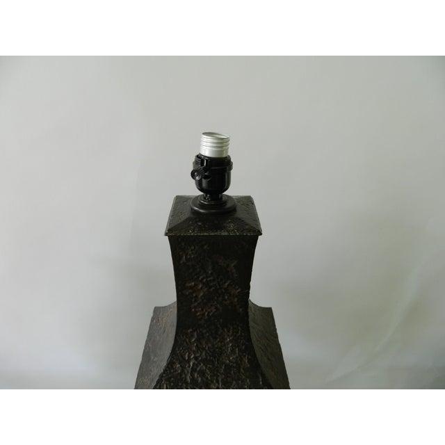 Image of Gun Metal Table Lamp