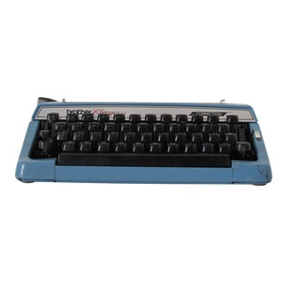 Brother Baby Blue Typewriter