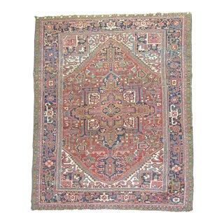 """Antique Persian Heriz Rug - 8'2"""" x 10'8"""""""