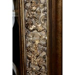 Image of Fantastic Large Carved Giltwood Asian Styled La Barge Mirror