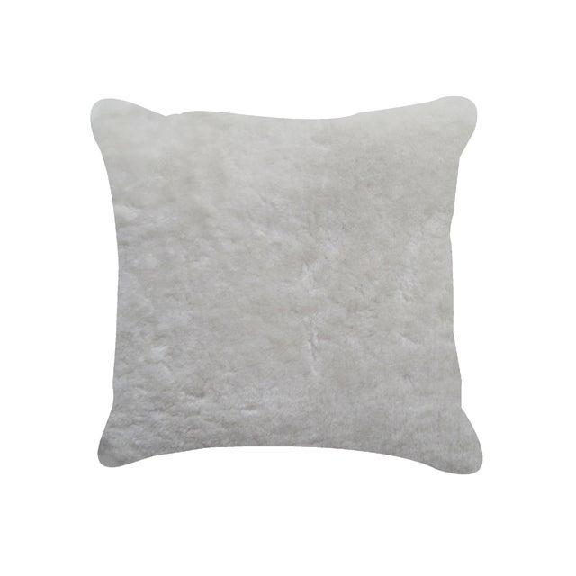 Natural Sheepskin Pillow - Image 1 of 2