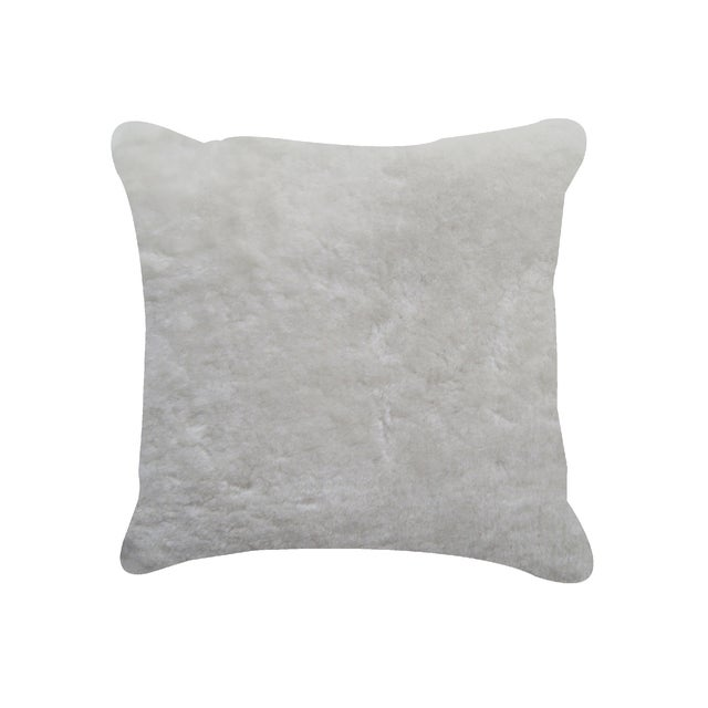 Image of Natural Sheepskin Pillow
