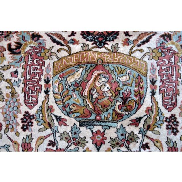 Vintage Besmer Wool Rug - 8′4″ × 11′8″ - Image 3 of 10