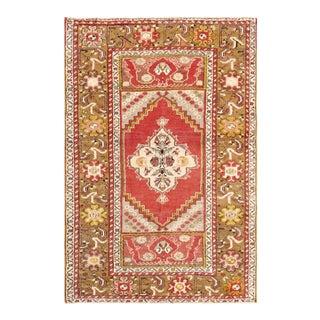 "Pasargad Vintage Sivas Wool Area Rug - 3' 7"" X 5' 5"""