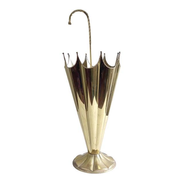 Umbrella Stand Ireland: Vintage Brass Umbrella Stand