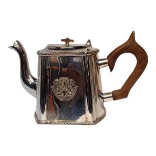 Vintage Silver Tea Pot